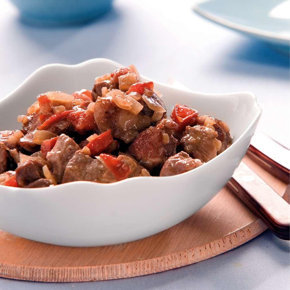 Изобразяване на рецептата Попска яхния