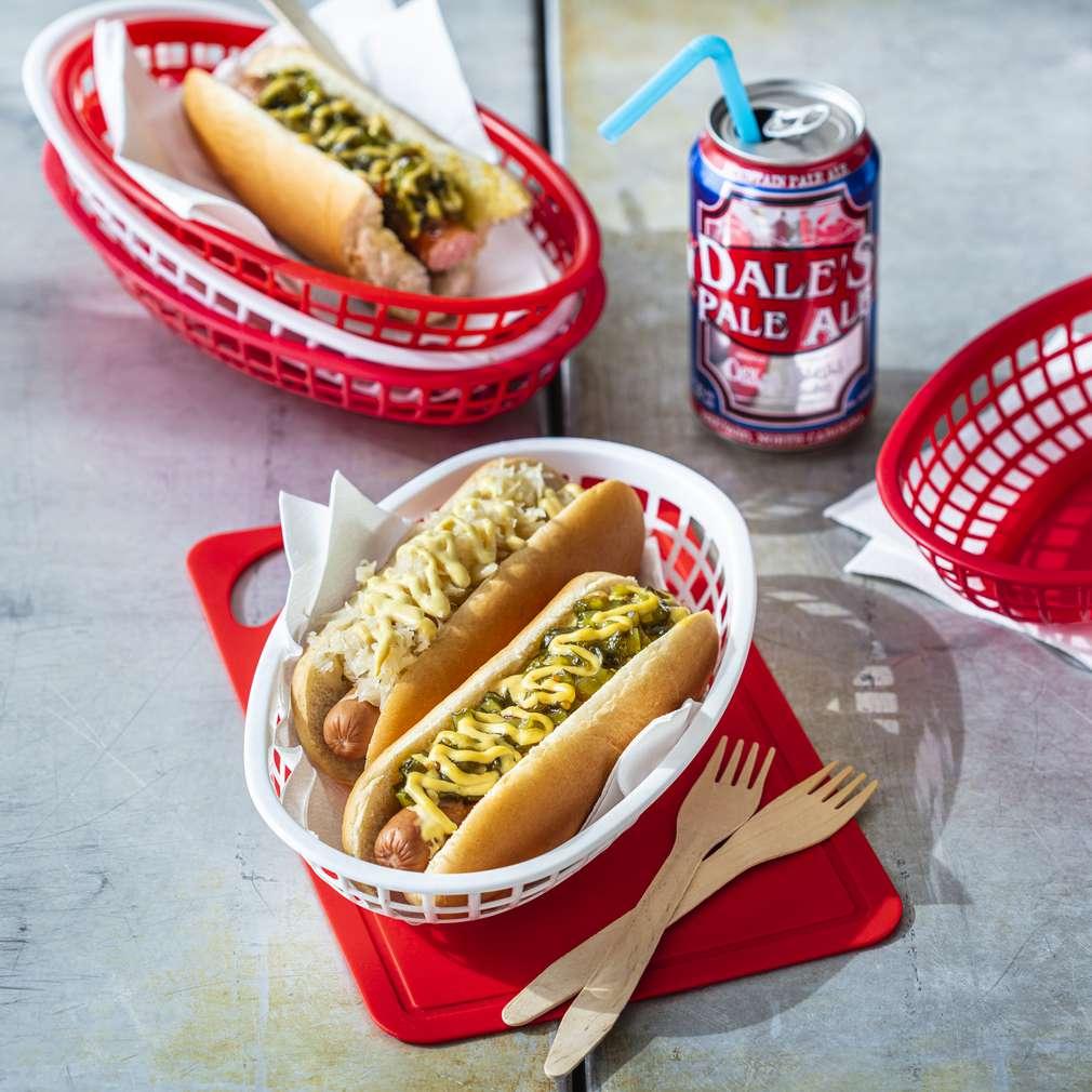 Imaginea rețetei Hotdog cu castraveți murați