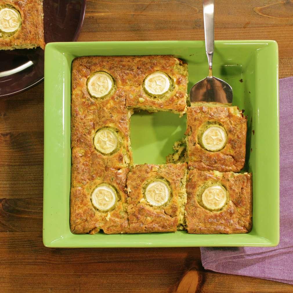 Изобразяване на рецептата Гръцки пай с тиквички