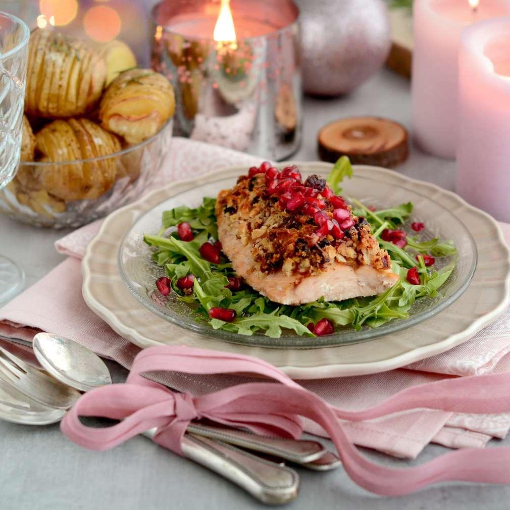 Zobrazenie receptu Lososové filety s rozmarínovými zemiakmi