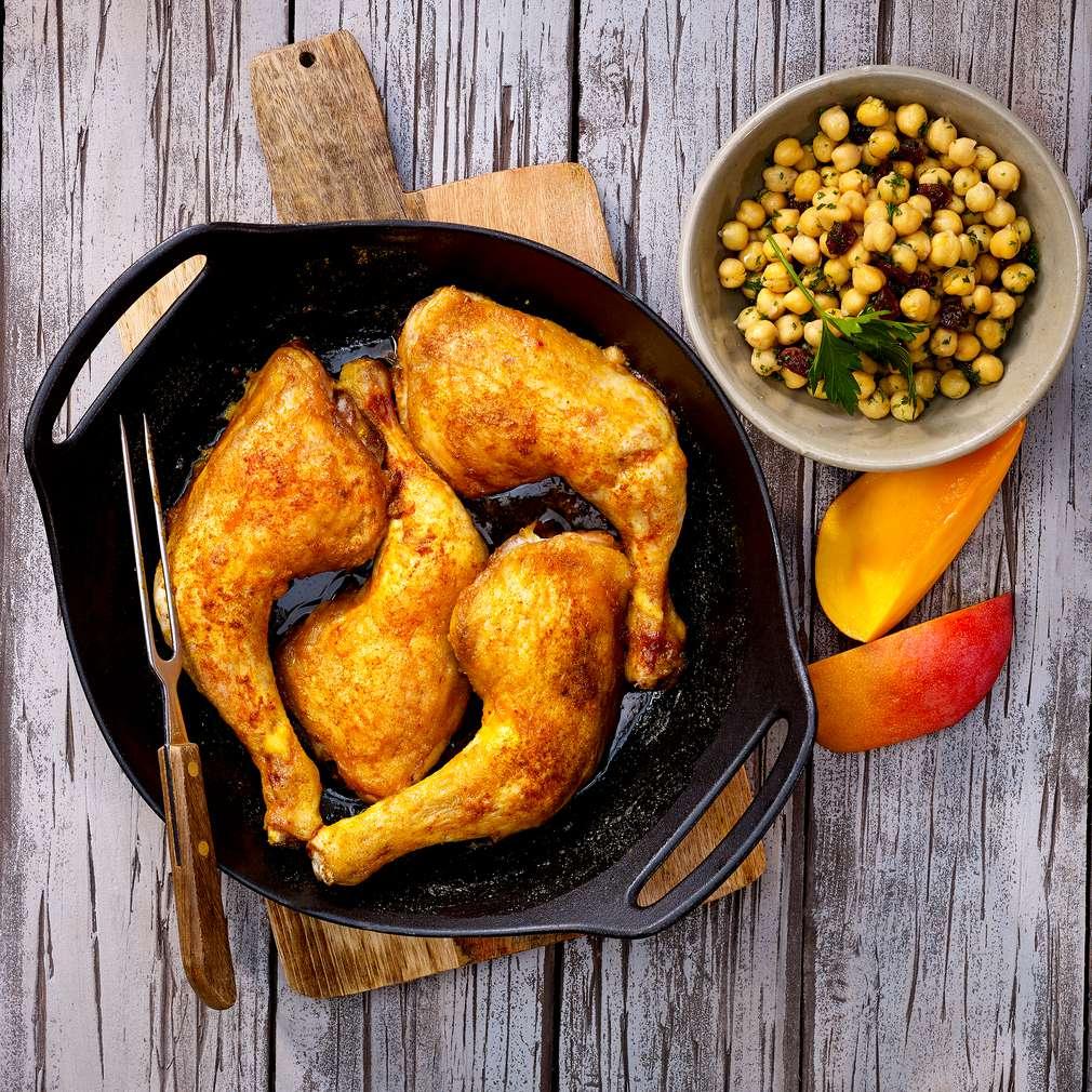 Abbildung des Rezepts Persische Hähnchenschenkel