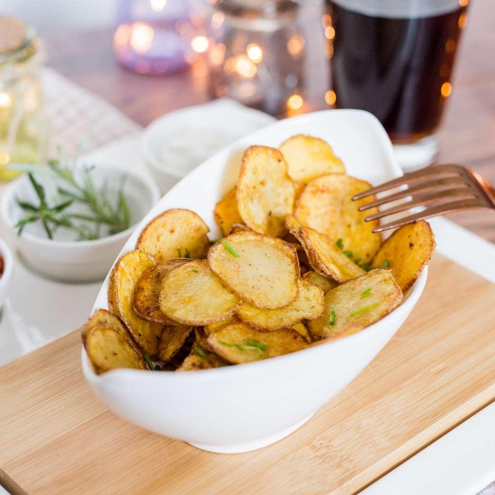 Zobrazenie receptu Domáce zemiakové čipsy