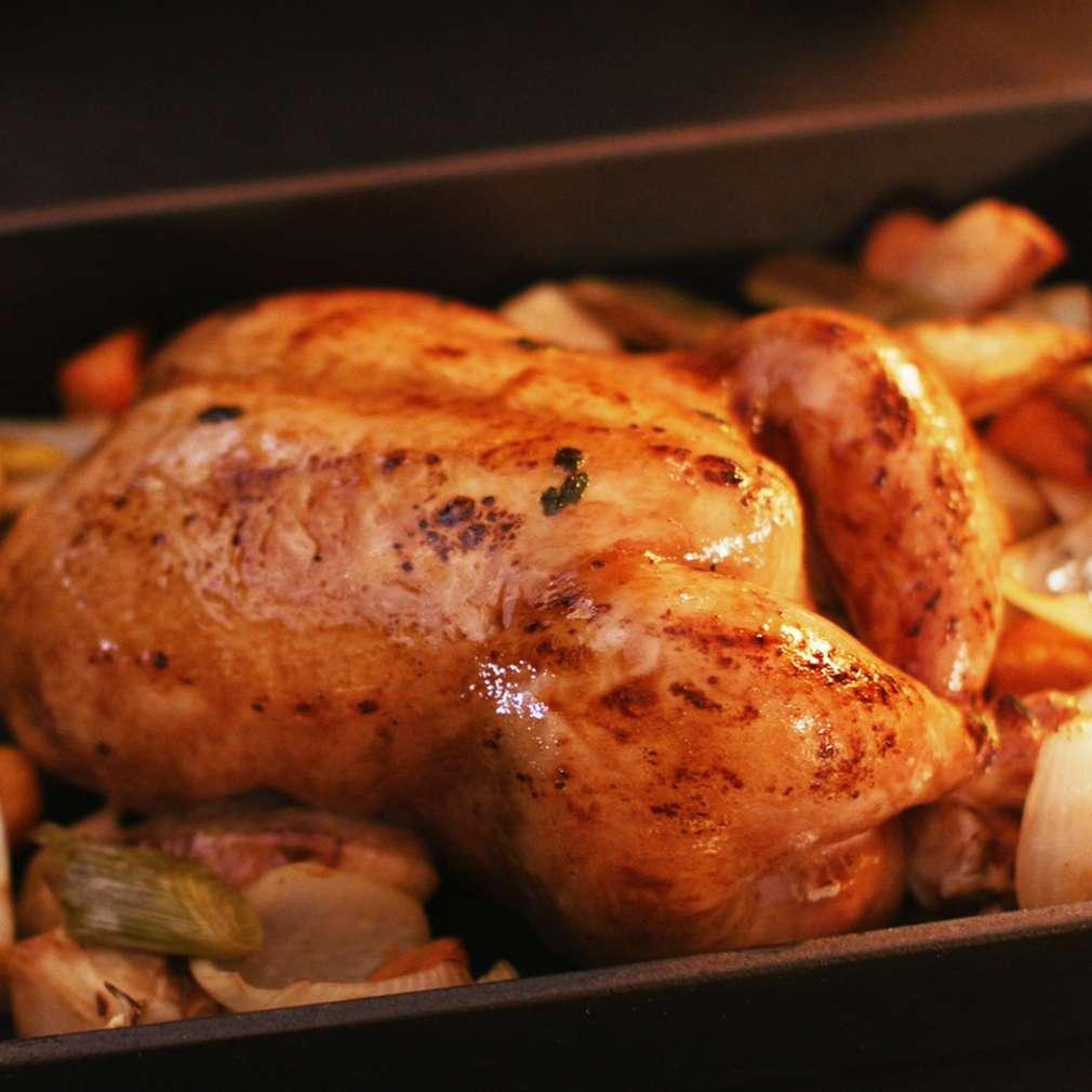 Изобразяване на рецептата Сочно печено пиле