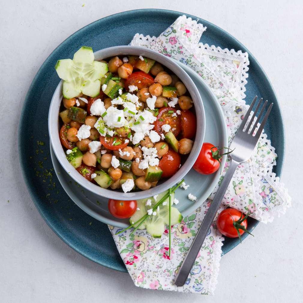 Abbildung des Rezepts Kirschtomaten-Kichererbsen-Salat