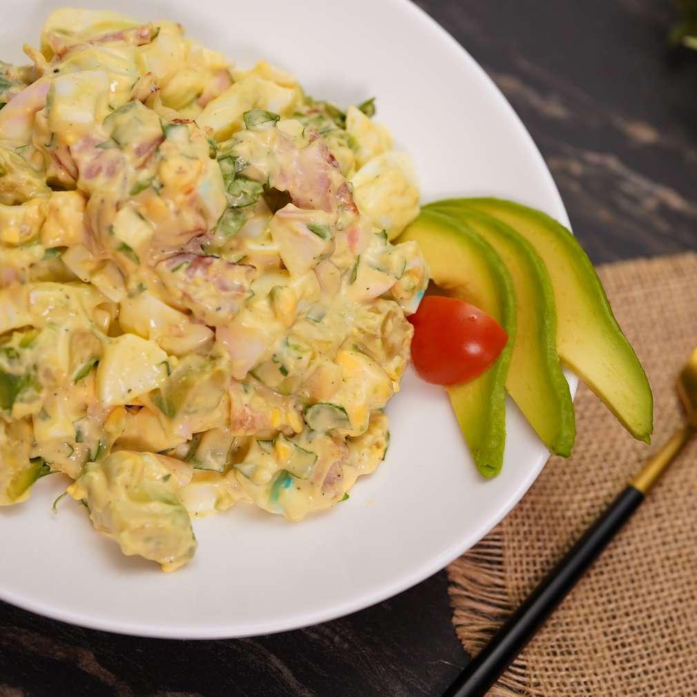 Изобразяване на рецептата Яйчена салата