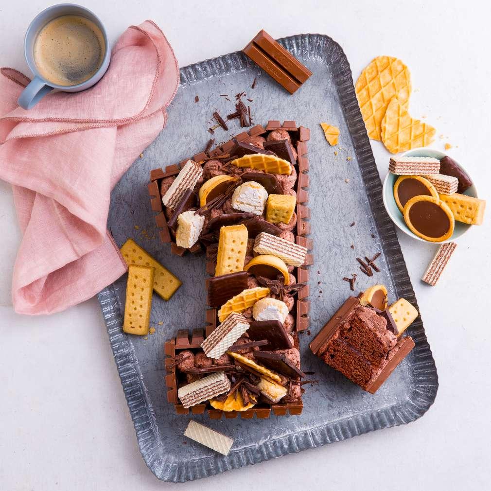 Abbildung des Rezepts Choco-Candy-Cake (Number Cake)