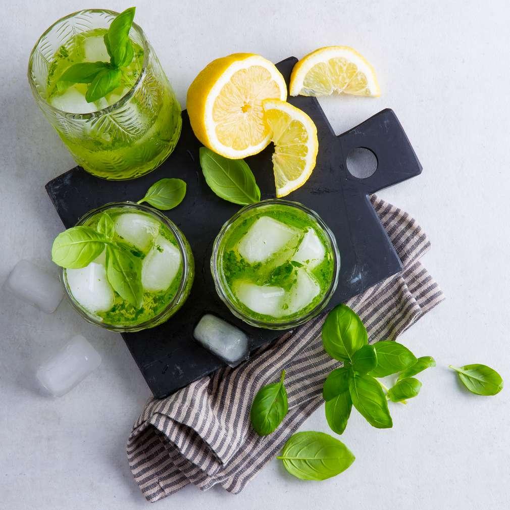 Abbildung des Rezepts Gin Basil Smash