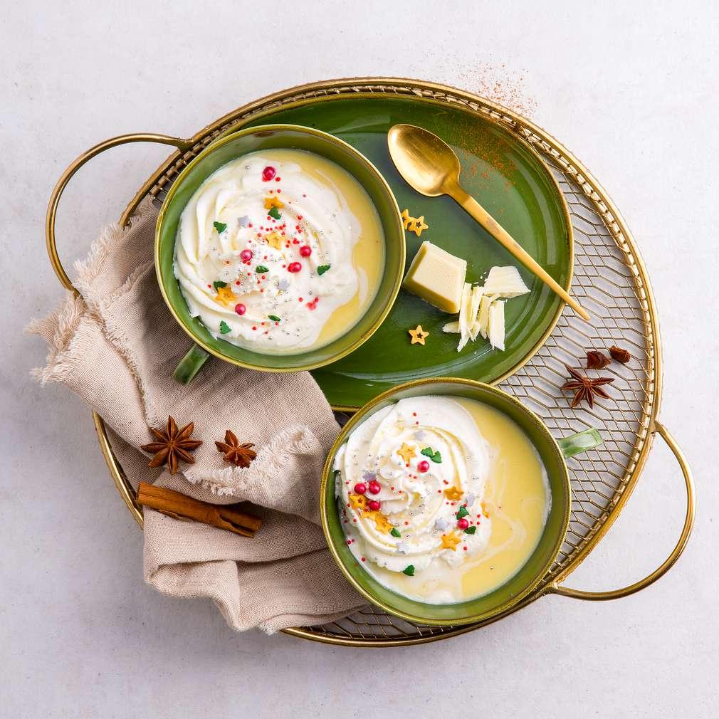 Zobrazenie receptu Horúca biela vianočná čokoláda