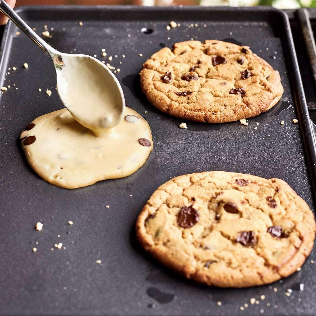 Abbildung des Rezepts Schoko-Cookies vom Grill