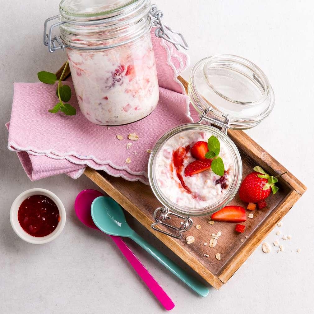 Abbildung des Rezepts Erdbeer-Porridge