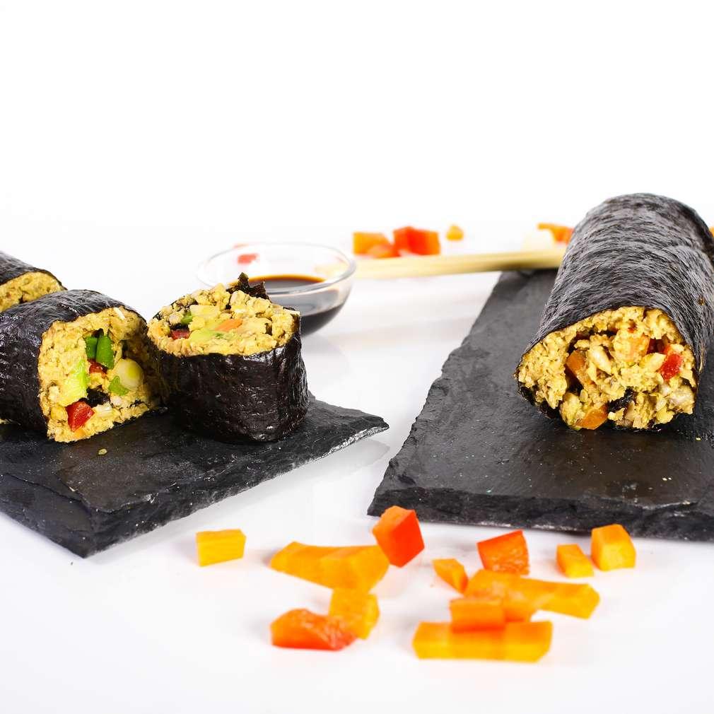 Imaginea rețetei Sushi raw cu alge nori