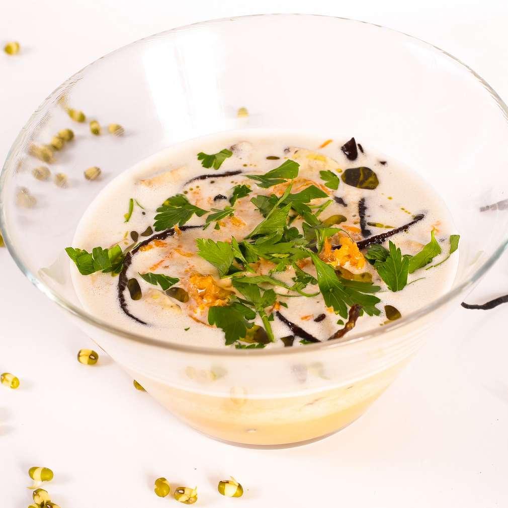 Imaginea rețetei Supă raw cu alge