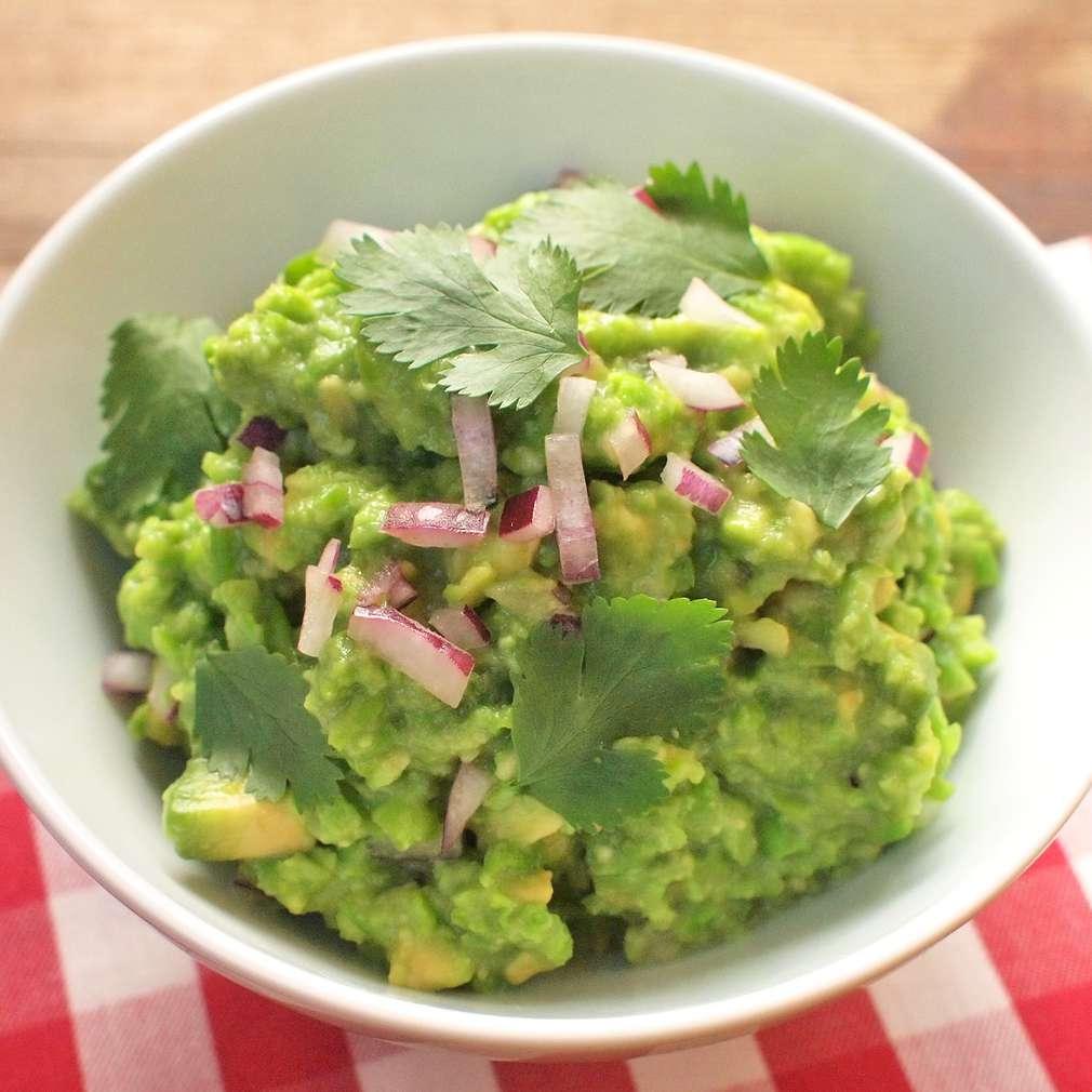 Zobrazit Guacamole s hráškem receptů
