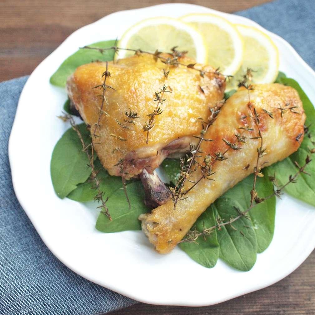 Zobrazit Tymiánové kuře s hořčicí a medem receptů