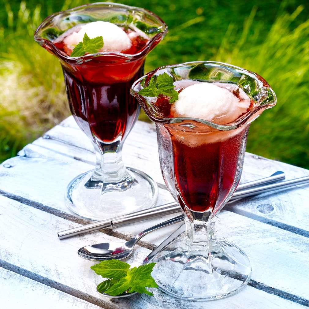 Abbildung des Rezepts Kirsch-Zitronen-Cocktail