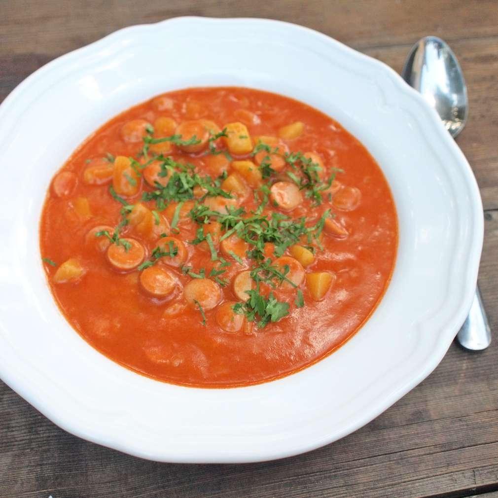 Zobrazit Frankfurtská polévka receptů