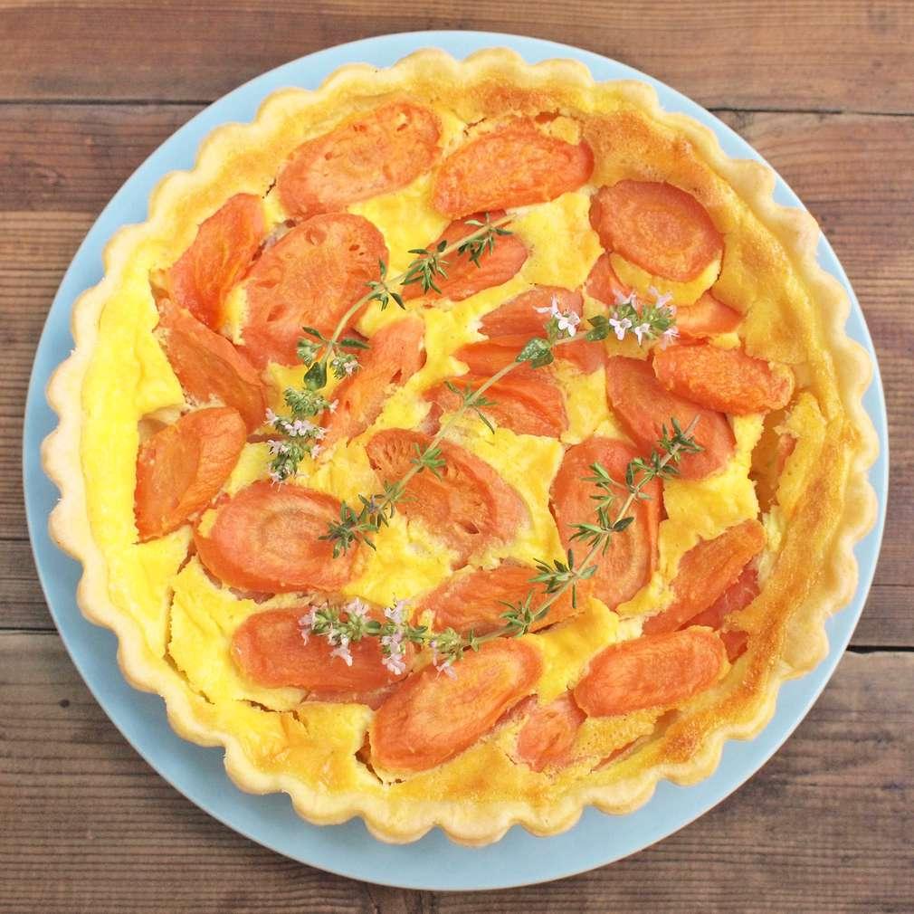 Zobrazit Mrkvový koláč s tymiánem receptů