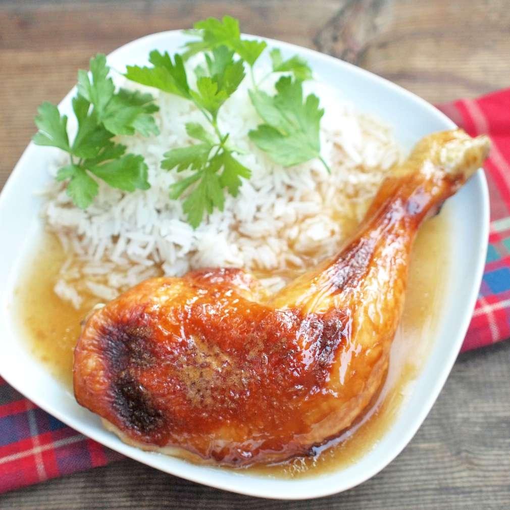 Zobrazit Pečené kuře na medu receptů