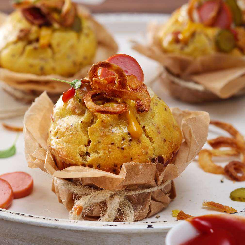 Fotografija recepta Hot Dog Muffins