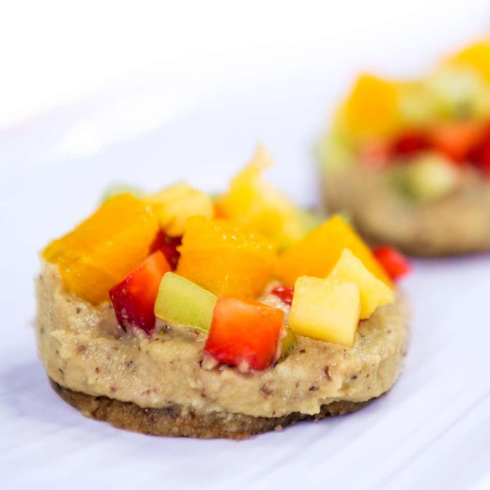 Изобразяване на рецептата Постни плодови тарталети