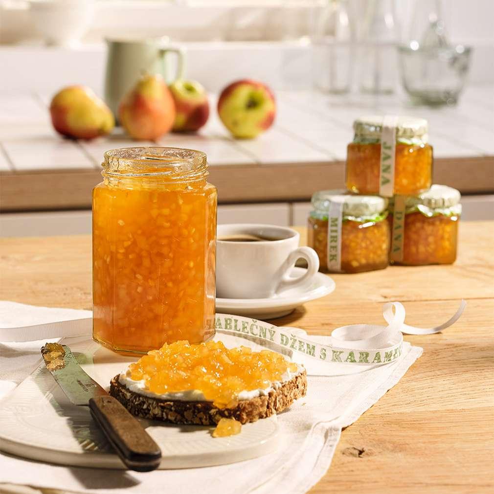 Zobrazit Hruškovo-jablečný džem s karamelem receptů