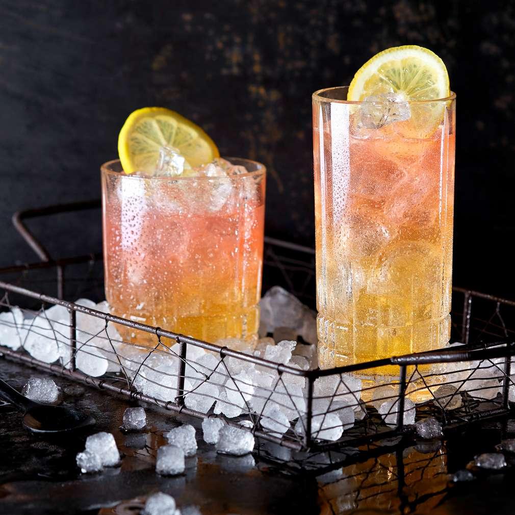 Zdjęcie przepisu Limonkowy drink z bąbelkami