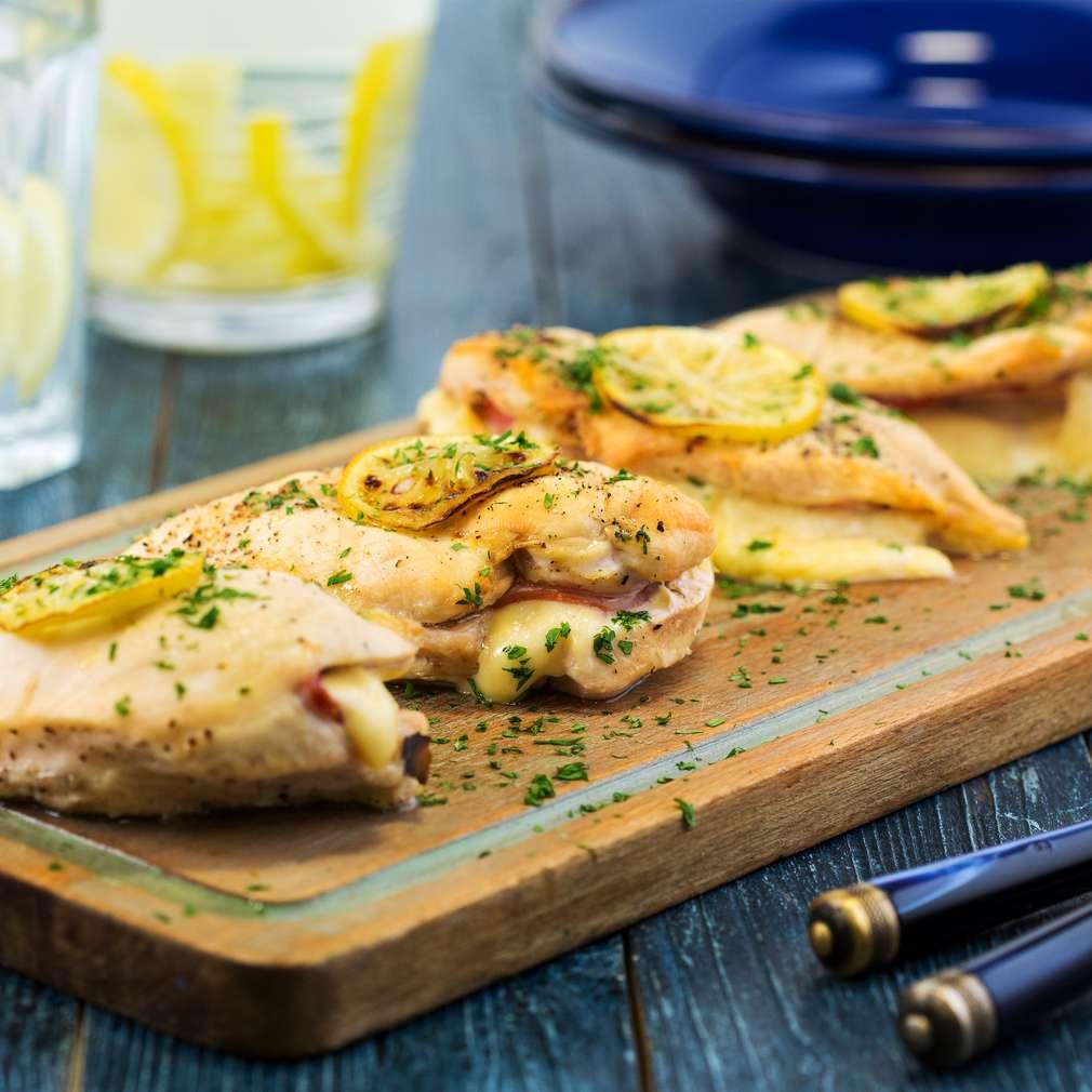 Изобразяване на рецептата Кордон Бльо с пилешко
