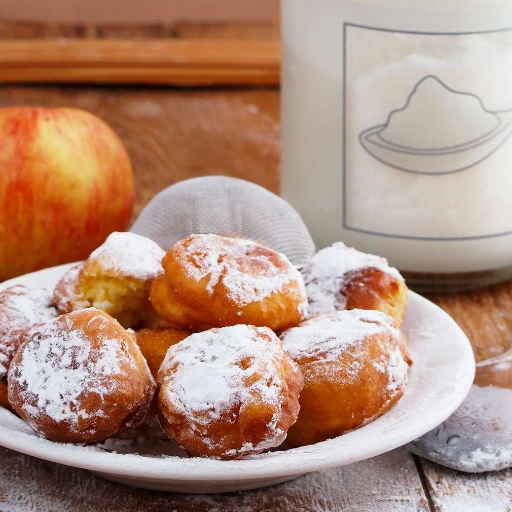 Fotografija recepta Fritule s jogurtom i jabukom