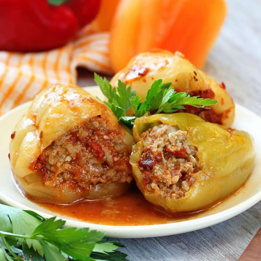 Fotografija recepta Punjene paprike