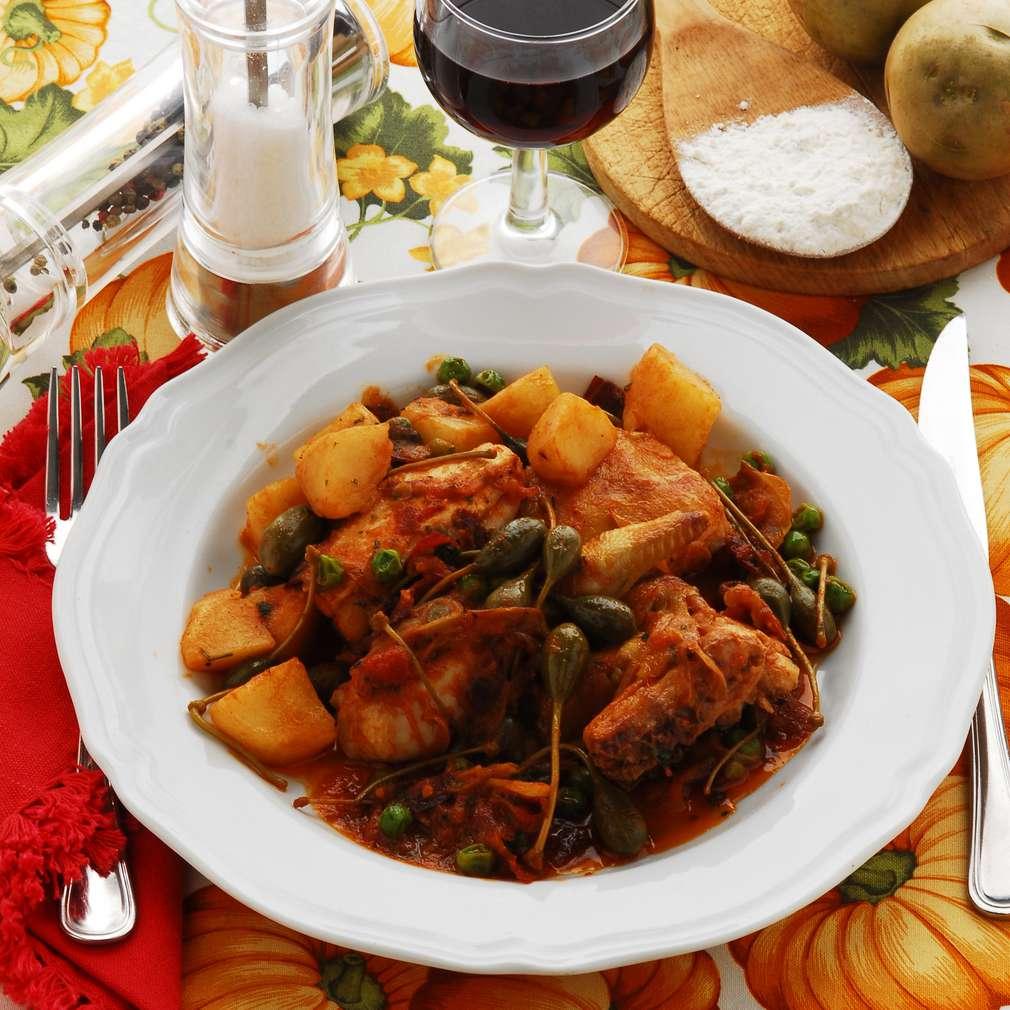 Fotografija recepta Pile na primoštenski način