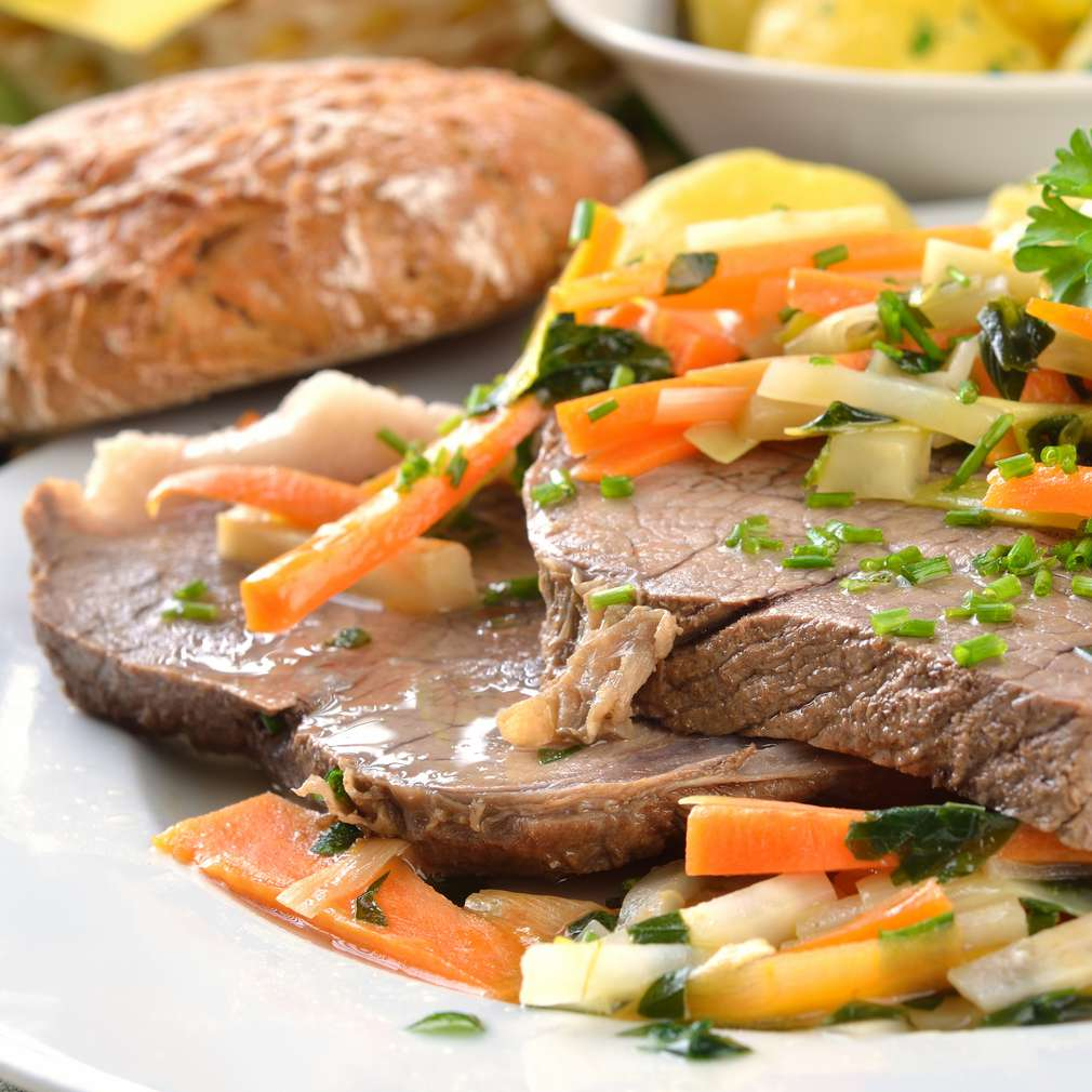 Fotografija recepta Kuhana junetina s povrćem