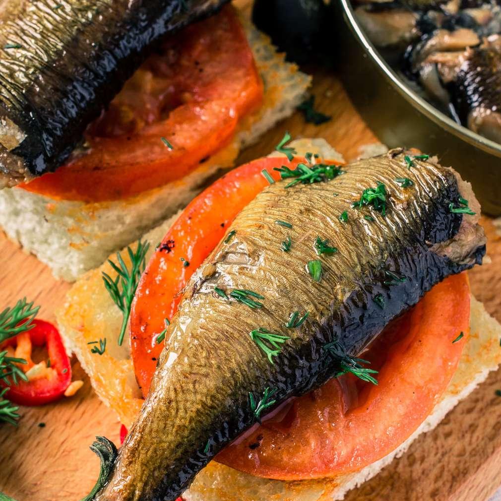 Fotografija recepta Kanapei sa sardinama