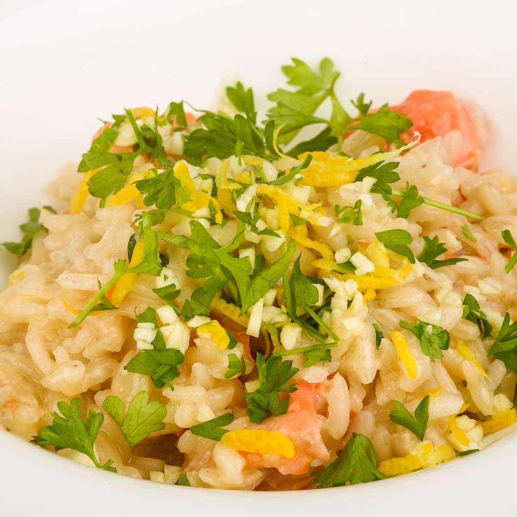 Fotografija recepta Rižoto s morskim plodovima
