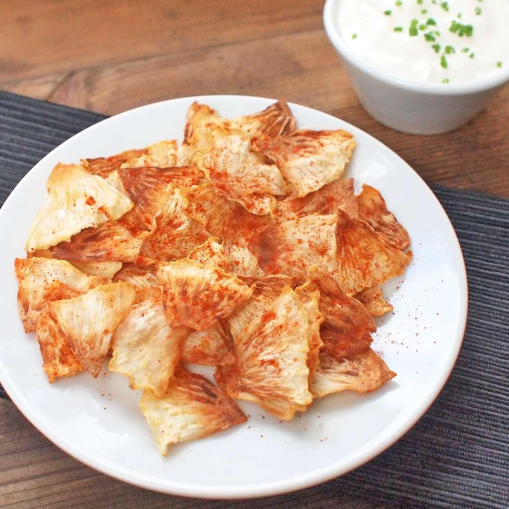 Zobrazit Pikantní celerové chipsy receptů