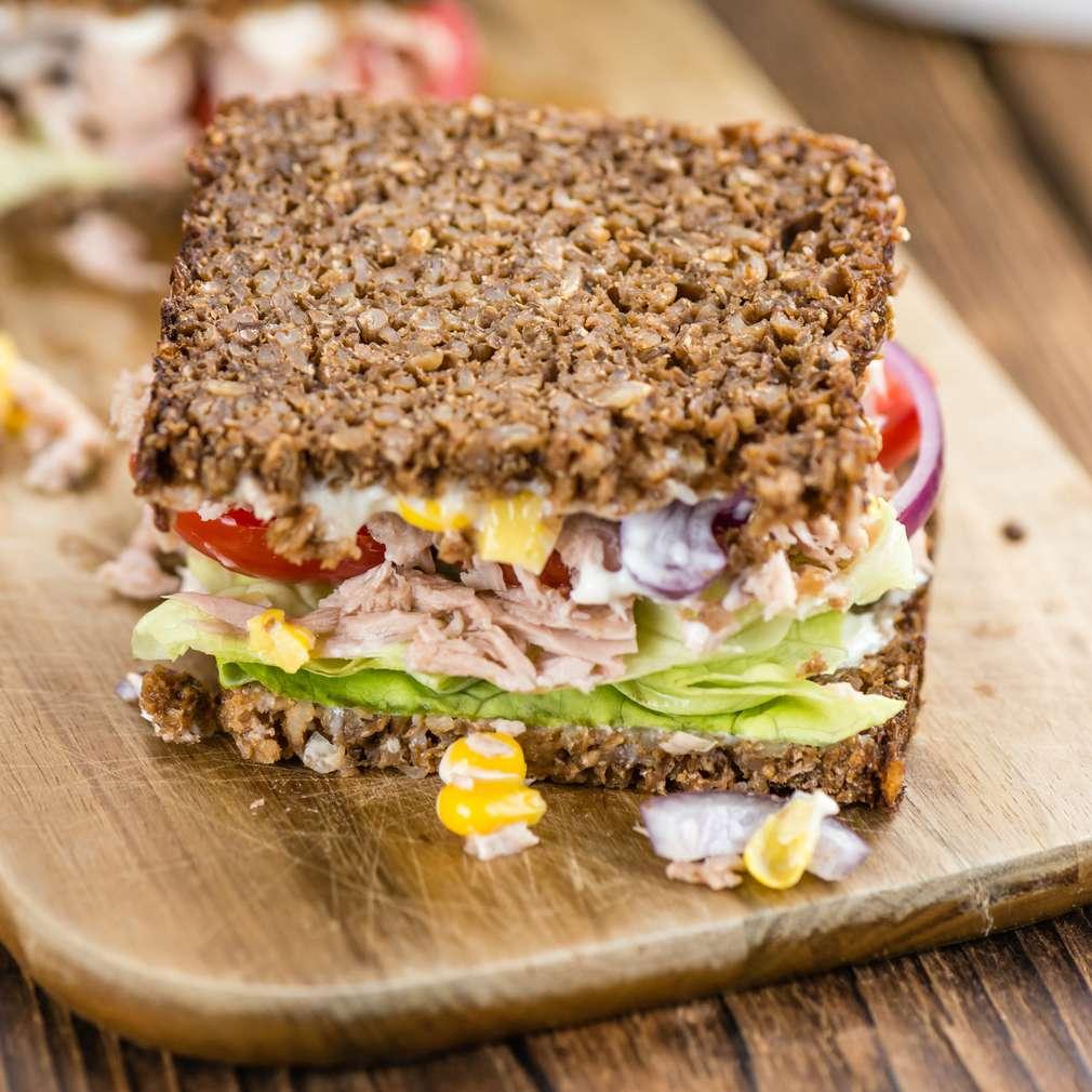 Fotografija recepta Bogati sendvič s tunom