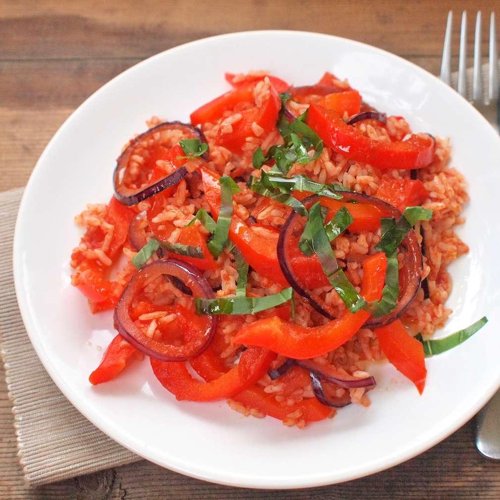 Zobrazit Zapečená rýže s paprikou receptů