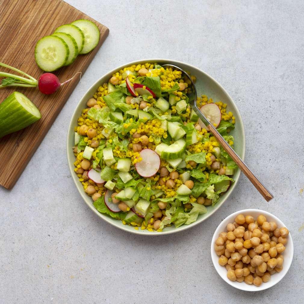 Zobrazit Bulgurový salát s cizrnou receptů