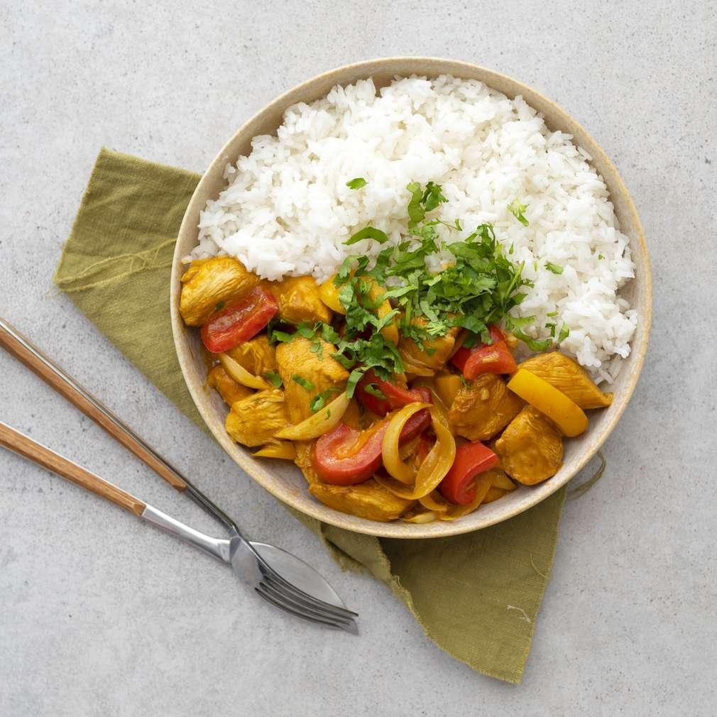 Zobrazit Sladkokyselé kuře s rýží receptů