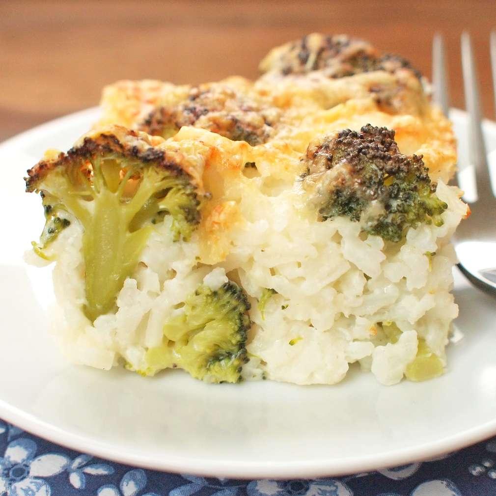 Zobrazit Zapečená rýže s brokolicí receptů
