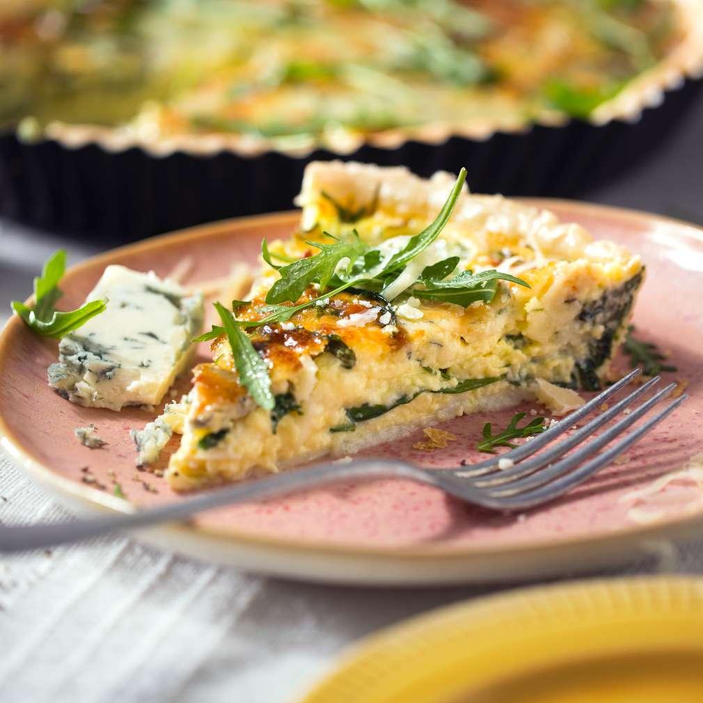 Imaginea rețetei Quiche quattro formaggi
