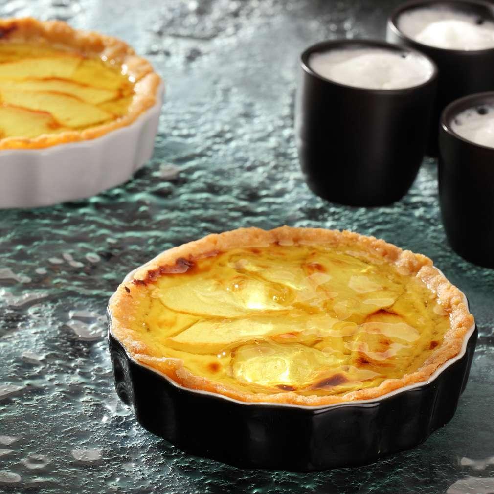 Zdjęcie przepisu Tartaletki cytrynowe z jabłkami