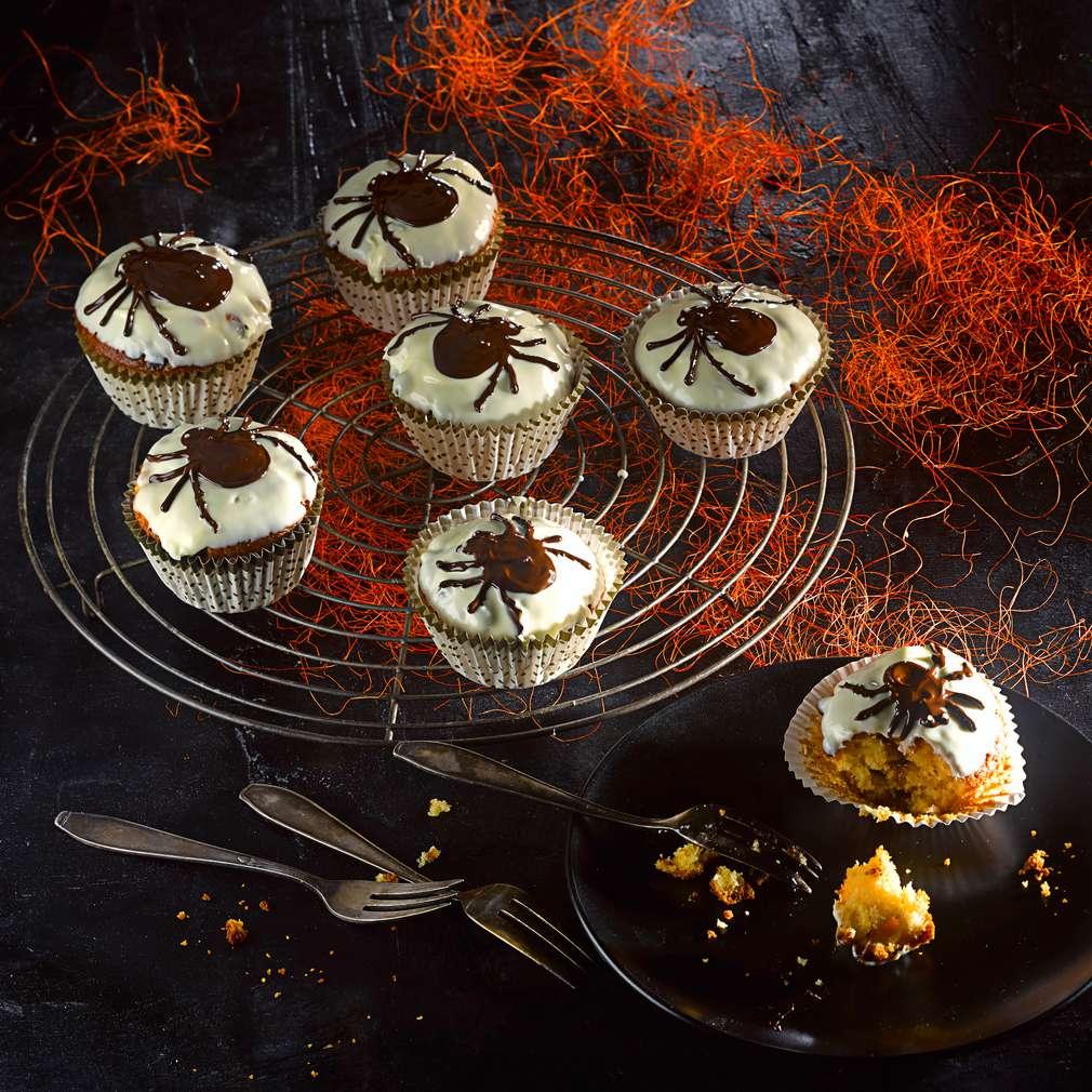 Abbildung des Rezepts Spinnen-Muffins