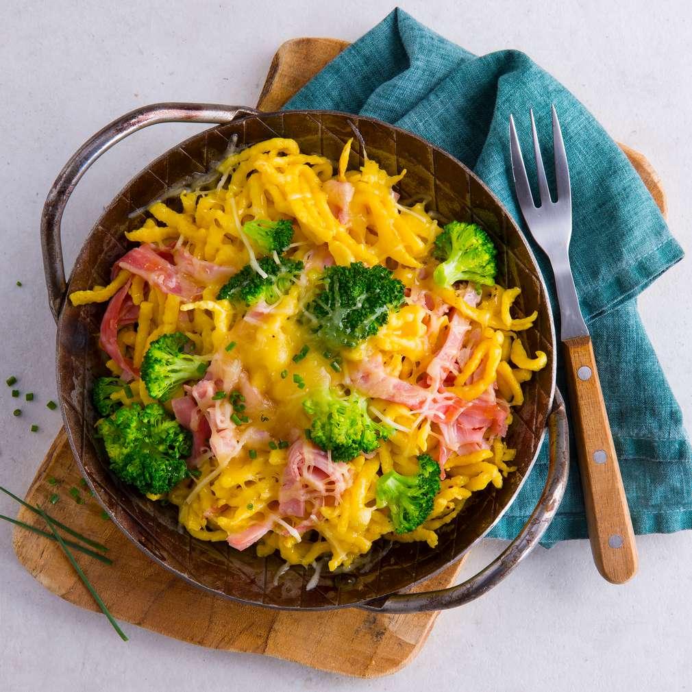 Abbildung des Rezepts Brokkoli-Käse-Spätzle