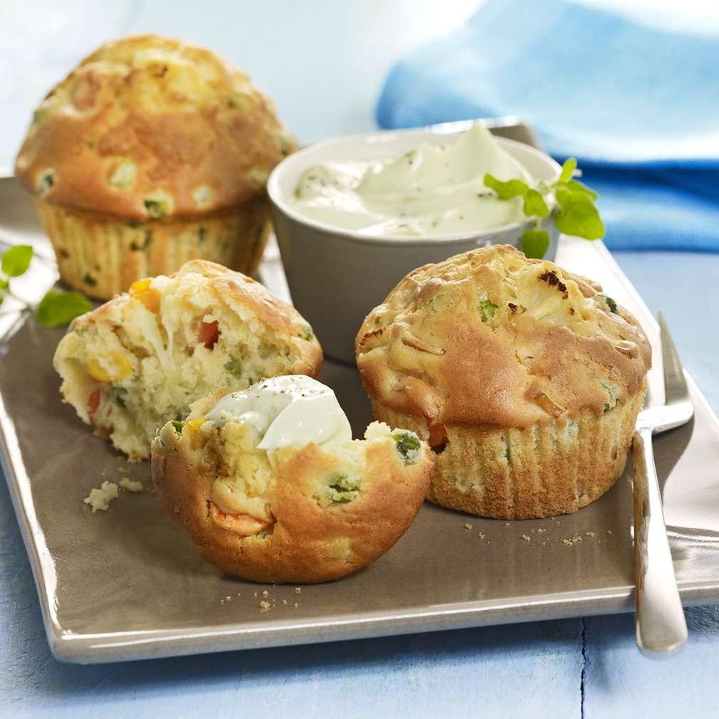 Abbildung des Rezepts Gemüse-Muffins