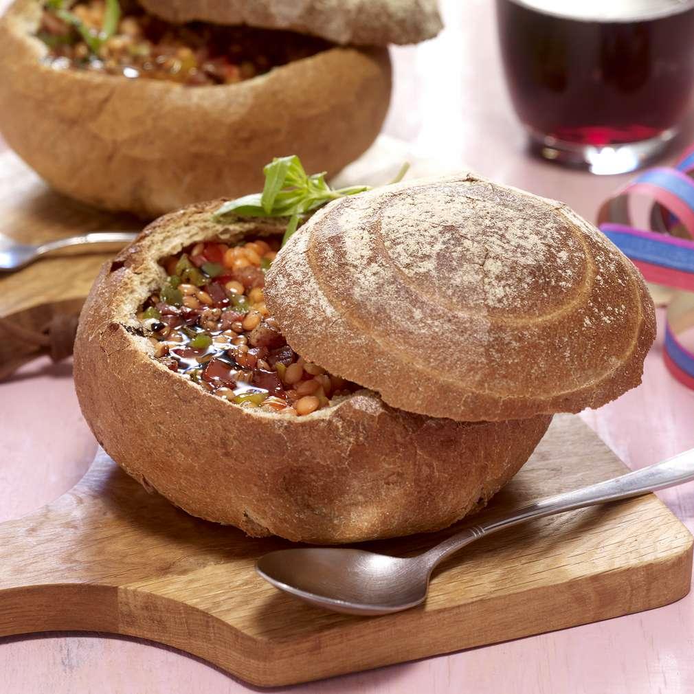 Zobrazenie receptu Pestrá šošovicová polievka