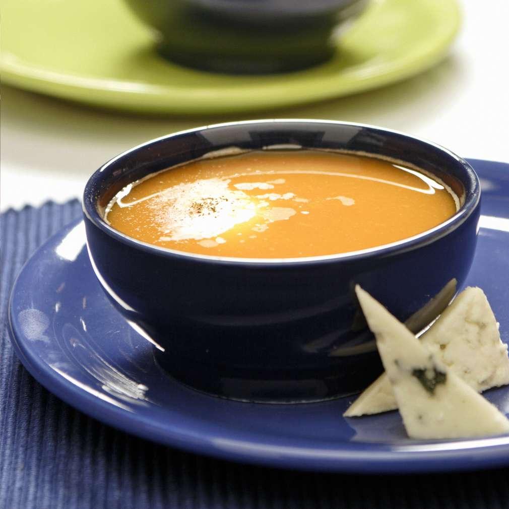 Изобразяване на рецептата Студена крем супа