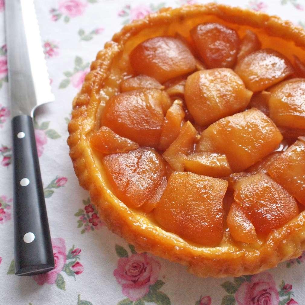 Zobrazit Obrácený jablkový koláč receptů