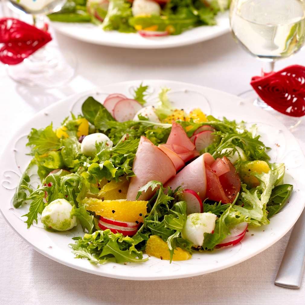Abbildung des Rezepts Fruchtiger Salat