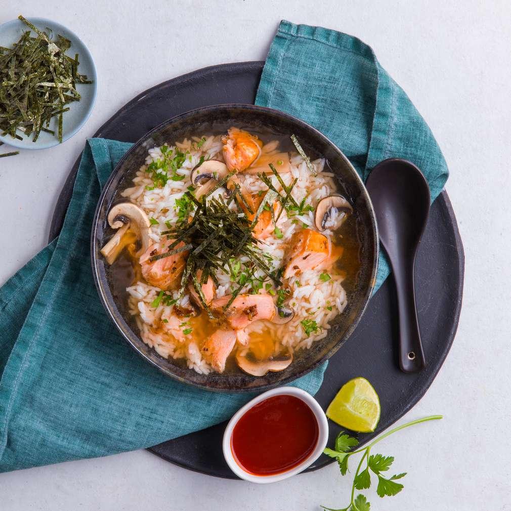 Изобразяване на рецептата Чазуке
