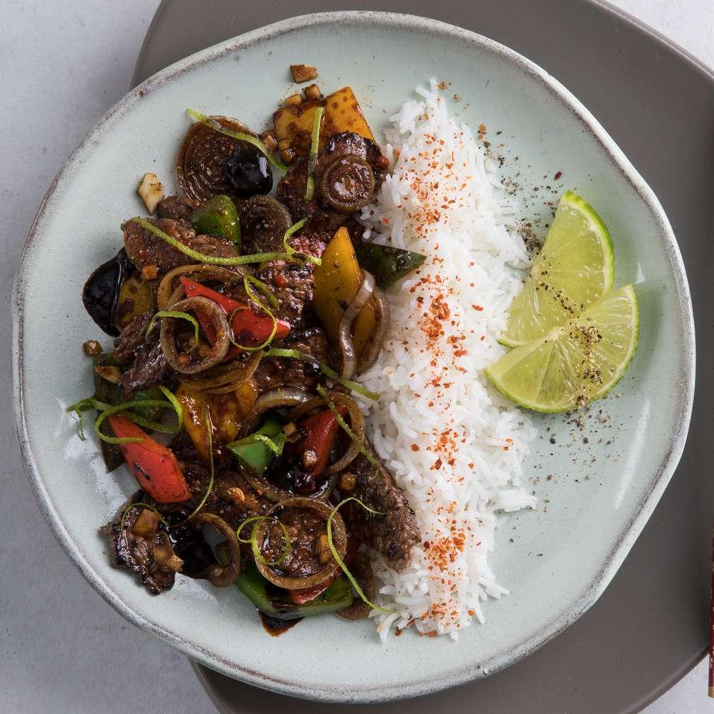 Imaginea rețetei Carne de vită cu sos de soia și citrice